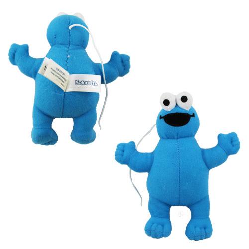 1x Cookie Monster 12.5cm Plush Doll NWT Sesame Street FREE SHIPPING(China (Mainland))