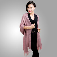 new 2013 new winter long stripe knit scarf ladies SCARF SHAWL FREE SHIPPING