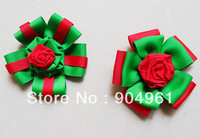 Hair clips for kids Hairbow Christmas hair clips santa flower kids hair accessories