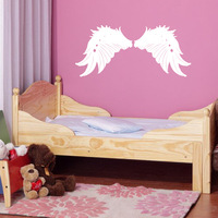 Angel's wings  Removable vinyl Wall Stickers, wall decor home decal, free shipping