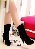 2013 female shoes autumn and winter  women boots high heels martin  tassel boots
