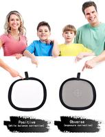 1pc Studio 18 Degrees Photography Gray Board 30cm Focusing Plates White Balance Panel for Photo Studio