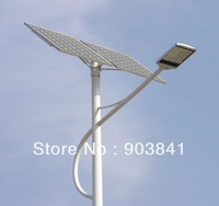 24V 28W solar LED street light system,time control waterproof regulator,mono solar panel,battery,hot-sale free shipping