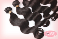 Russian virgin remy hair body wave human hair 3pcs lot mixed length grade 6A free shipping by DHL