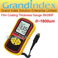 Temperature Range:0~1800um Professional  Digital Film Coating Thickness Gauge SK280F