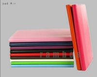 Folio Flip Leather Case Stand Cover for iPad Air 5 Photo Frame Design 11 Colors Available 100pcs/lot free shipping