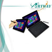 "11.6"" windows 8 pro Tablet pc  Dual core Intel1037u 1.8Ghz  Dual camera 8000mAh 64G WiFi 3G BT handwriting laptop"