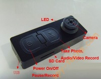 Free shipping Wholesale  Button Camera Mini  video camera,without retail box with 10pcs/lot