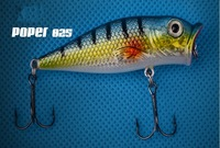 New Fishing Lure Bait trackle trout Minnow 6 colorS two hooks 10pcs/lot free shipping