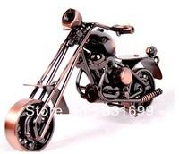 2013 latest design creative gift metal simulation motorcycle model handmade iron crafts decoration arts factory direct
