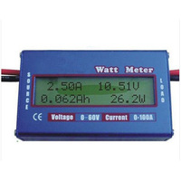 Digital LCD 60V/100A RC Voltage/Current/ Power/ Battery Analyze Watt Meter