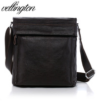 Vl genuine leather man bag leather cross-body bag one shoulder bag casual bag v-zy8627