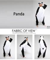 Panda Kigurumi Pajamas Pyjama Animal Suits Cosplay Costumes Adult Garment Flannel Cute Cartoon Animal Onesies Sleepwears