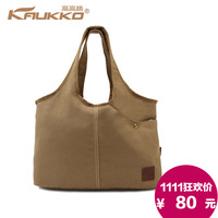 2013 canvas bag general one shoulder handbag fashion brief