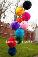 Free shipping 50pcs 10cm  Honeycomb Lantern Wedding / Baby Shower / Birthday Party / Nursery / Festival decoration