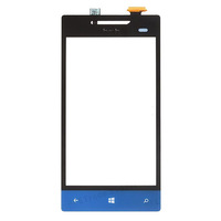 Original new Digitizer Touch Screen Glass FOR HTC Windows Phone 8S A620e -Blue White Yellow