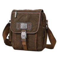 free shipping 2014  canvas bag man shoulder messenger bag Cowboy Style vintage casual school bag