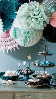 Free shipping 100pcs 20cm  Honeycomb Lantern Wedding / Baby Shower / Birthday Party / Nursery / Festival decoration