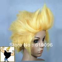 Johnny Bravo Adult Yellow Halloween Costume Wigs