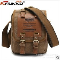 New FH11 high road, men's bags, canvas aslant package, pure cotton, single shoulder bag, Europe and the United States men's bag