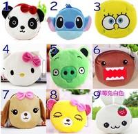 Cute Portable Cartoon Bag Change Coin Purse Case Plush Purse Handbag Many style 1-20 models