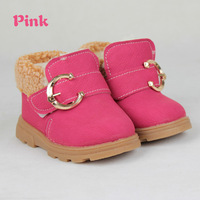 free shipping new arrive boy and girl style children's winter warm shoes