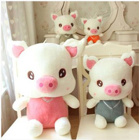 Cute cartoon new design stuffed animals pig dolls plush+PP cotton pillow 4 sizes big size,children girl boy's  Christmas gift