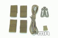 FAST Helmet DIY deck Set Tan/Black/Green Free shipping