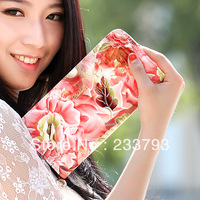 Women's wallet  fashion long design 2013 small change folder