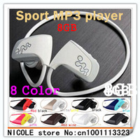 New Sports Mp3 player w262 8GB sports earphone Mp3 player free shipping- In Stock