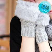 Moben 2013 winter knitted yarn gloves wristiest arm sleeve