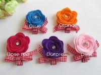Newest Brand design Cute Nonwoven Fabric flower children's  Baby kids christmas gift Infant Toddler hair accessories Headband
