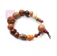1 Pcs! Wholesale Tibetan Jewelery Religion Handmade Natural Tizi Beads Stretch Bracelets Men / Women Charm High-end Gift