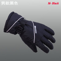 Free Shipping Winter Sports Gloves windproof Ski Gloves,men's Winter hiking Gloves, snowboarding Water-Proof,Breathable 802