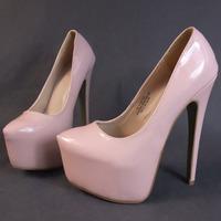 New 2014 Women's High HeelsPlatform 16cm Neon Pink  High Heels Shoes Pink Size 35 - 45 11  Platform High Heels Shoes for Women