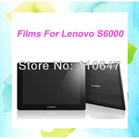 "Original Screen Protector Clear LCD Protective Film Guard For Lenovo S6000 10.1"" Tablet PC 10PCS Free Shipping"
