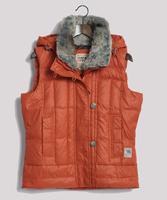 Fashion winter excellent thickening thick down vest women's