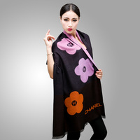 2013 new lady cashmere scarf knitted scarf winter warm shawl free shipping