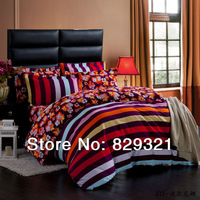 100% cotton reactive printed bedding set,sanding comforter set,pure cotton soft bed sheet,European style round bedspread