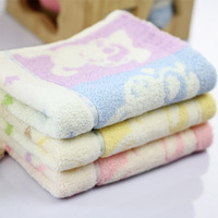 Discount 100% Bamboo Fiber Plain Solid Color Soft Baby Face Towel Adults Hand Towel Small Kerchief 26x26cm 5pcs/lot