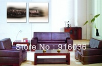 2 Panels Hot selling Free shipping Classical landscapes Art Wall Hanging Painting Print Paint Picture Decoration Canvas pt676