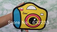2Pcs/Lot,Mix Order 2 Style,Free shipping,2013 new cartoon bag camera bag wrist wallet
