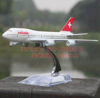 Swissair Boeing 747 aircraft simulation model alloy metal airplane model aircraft model toy cars and aircraft in Europe
