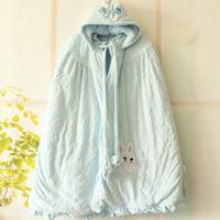 Baby cloak cotton newborn supplies child velvet baby autumn and winter baby cloak winter thickening clothes