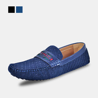New  items Summer business casual shoes leather check gommini men loafers