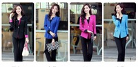 Women wear suit Slim 2013 Spring Korean fashion OL beauty teachers overalls pantsuit