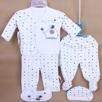 Autumn and winter thermal underwear newborn baby underwear baby autumn and winter clothing bamboo fibre underwear