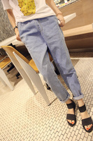 Free shipping 2013 HARAJUKU vintage bf jeans all-match loose small harem pants the casualness casual skinny pants female