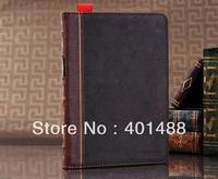 High Quality PU Leather Flip Folio KickStand Case Cover For Apple iPad Mini