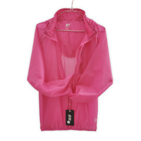 Outdoor clothing quick-drying ultra-thin trench anti-uv sun protection lovers design sun protection clothing